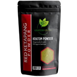 red ketapang kratom powder