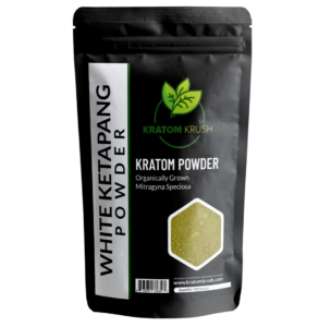 white ketapang kratom powder