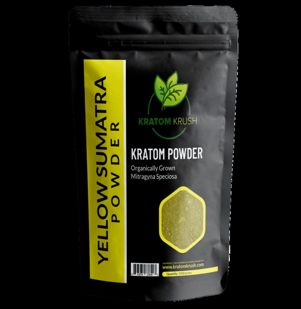 yellow sumatra kratom powder